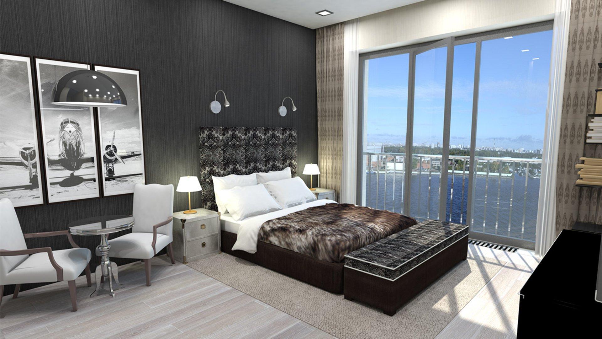 Вариант дизайна интерьера элитных апартаментов